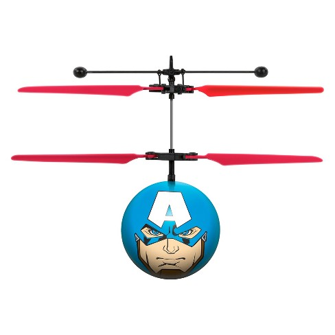 Marvel Avengers Captain America IR UFO Ball Helicopter - image 1 of 4