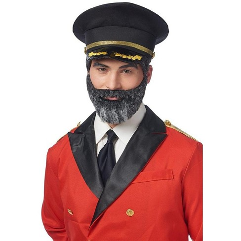 Costume Culture by Franco LLC Captain Obvious Moustache and Beard Adult Costume Accessory Set - image 1 of 1