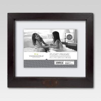 8 x10  Keyhole Frame Black - Threshold™