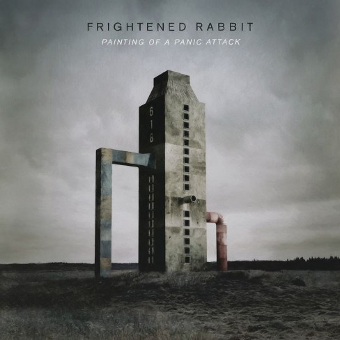 Frightened rabbit - Painting of a panic attack (CD) - image 1 of 1