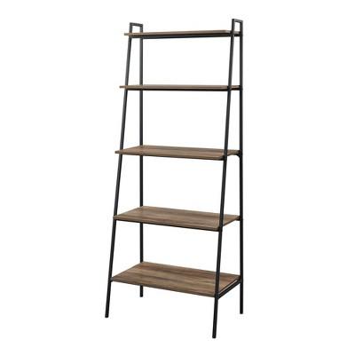 "72"" Sophia Open Storage Ladder Bookshelf - Saracina Home"