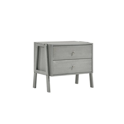 Granville 2 Drawers Stacking Cabinets Antique Gray - Picket House Furnishings