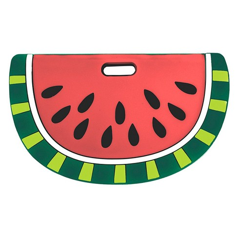 Silli Chews Silicone Watermelon Baby Teether - Red/Green - image 1 of 3