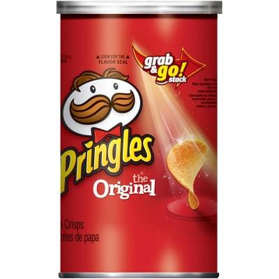 Pringles Grab & Go Large Original Potato Crisps - 2.3oz