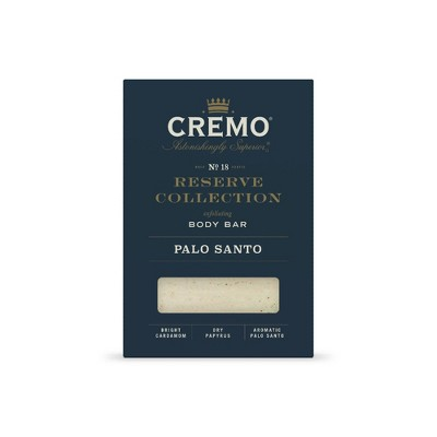 Cremo Palo Santo Reserve Collection Body Bar Soap - 6oz