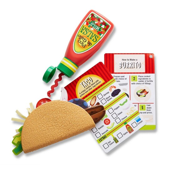 Melissa & Doug Taco and Tortilla Set 44pc image number null