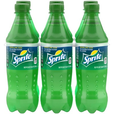Sprite - 6pk/16.9 fl oz Bottles