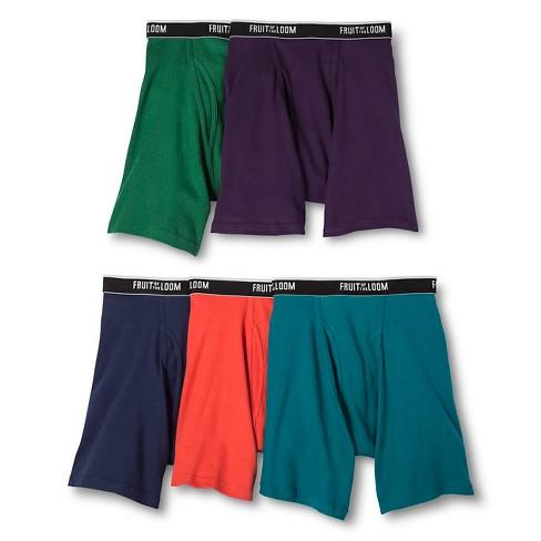2edd4af79fd7 Fruit Of The Loom Select® - Men's Boxer Briefs Multi-Colored : Target