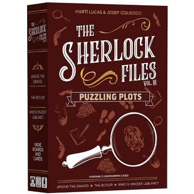 Sherlock Files Vol. III - Puzzling Plots Board Game