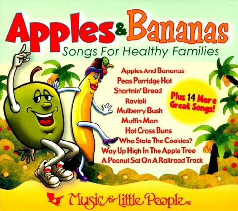 Various - Apples & bananas:Songs for healthy fa (CD) - image 1 of 1