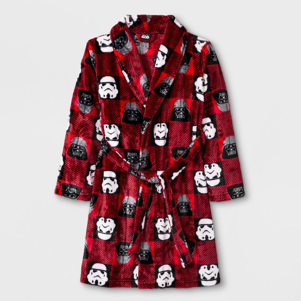 Boys' Star Wars Robe - Red M