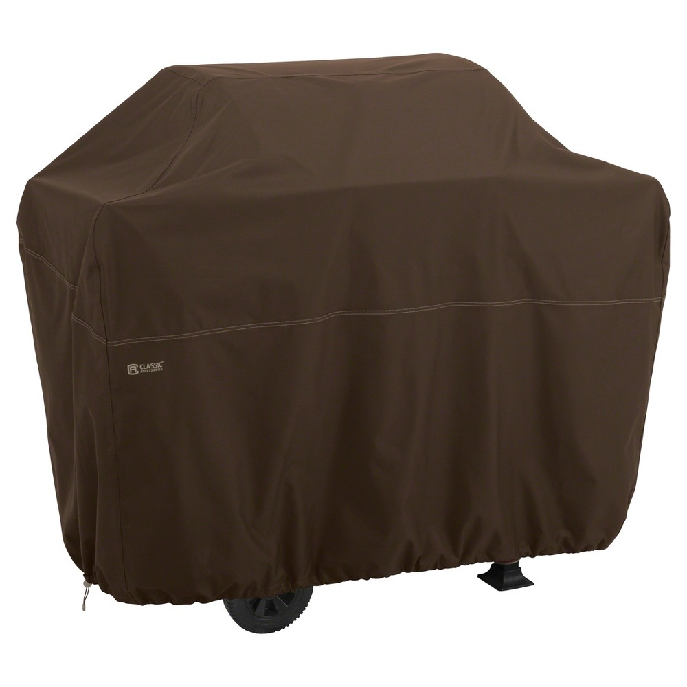 Madrona Xxl Large Bbq Grill Cover - Dark Cocoa - Classic Accessories, Brown