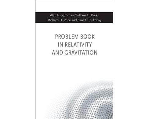Problem Book in Relativity and Gravitation -  Reprint (Paperback) - image 1 of 1
