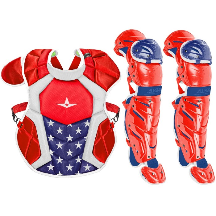 All-Star System7 Axis USA NOCSAE Intermediate Baseball Catcher's Gear Set - image 1 of 1