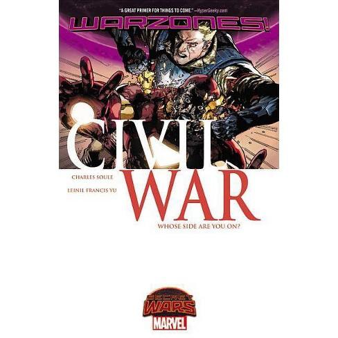 Civil War: Warzones! - (Paperback) - image 1 of 1