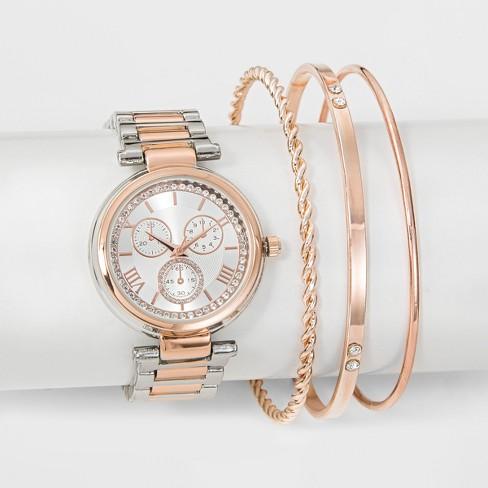 Women S Watch Bracelet Set