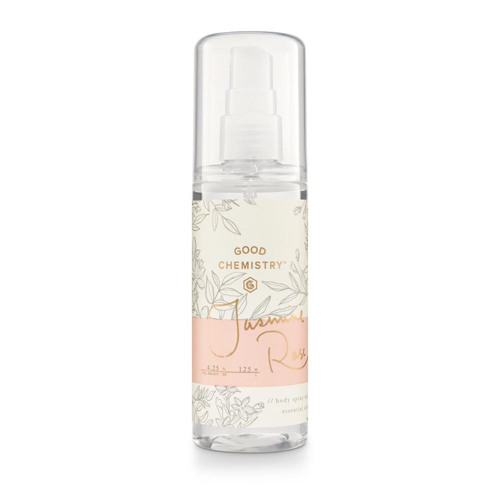 Jasmine Rose by Good Chemistry Body Mist Women's Body Spray - 4.25 fl oz.
