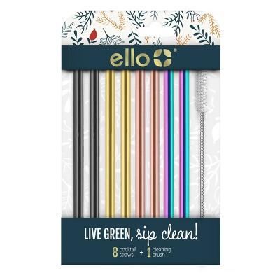 Ello 8pk Cocktail Straws