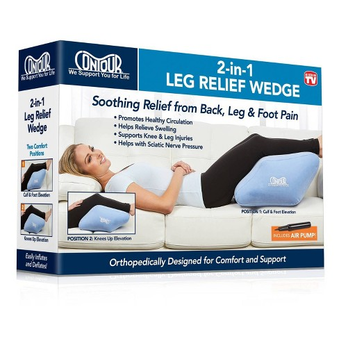 as seen on tv contour 2 in 1 leg relief wedge