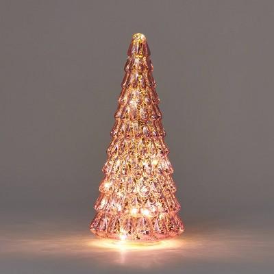 Lit Medium Mercury Christmas Tree Decorative Figurine - Wondershop™