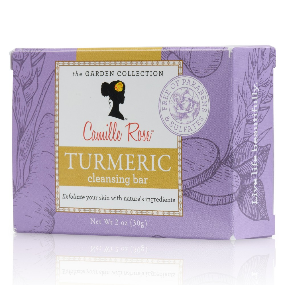 Camille Rose Naturals Turmeric Cleansing Bar - 2oz