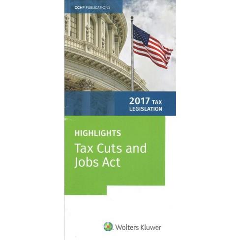 Tax Legislation 2017 Highlights Of The Tax Cuts And Jobs Act