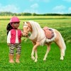 Lori Doll Horse with Accessories - American Quarter Horse Caramel - image 2 of 3