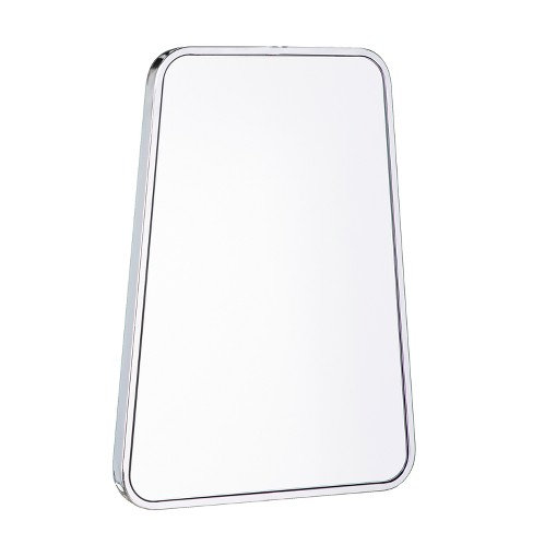 "Aiden Lane 28""x20.25"" Mina Decorative Wall Mirror Chrome - image 1 of 7"