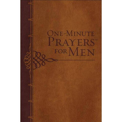 One-Minute Prayers(r) for Men Milano Softone(tm) - (Hardcover) - image 1 of 1