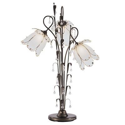 "OK Lighting 40""H Antique Bronze Table Lamp"