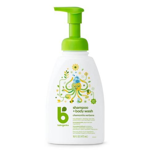Babyganics Shampoo + Body Wash Chamomile Verbena - 16oz (3pk) - image 1 of 4