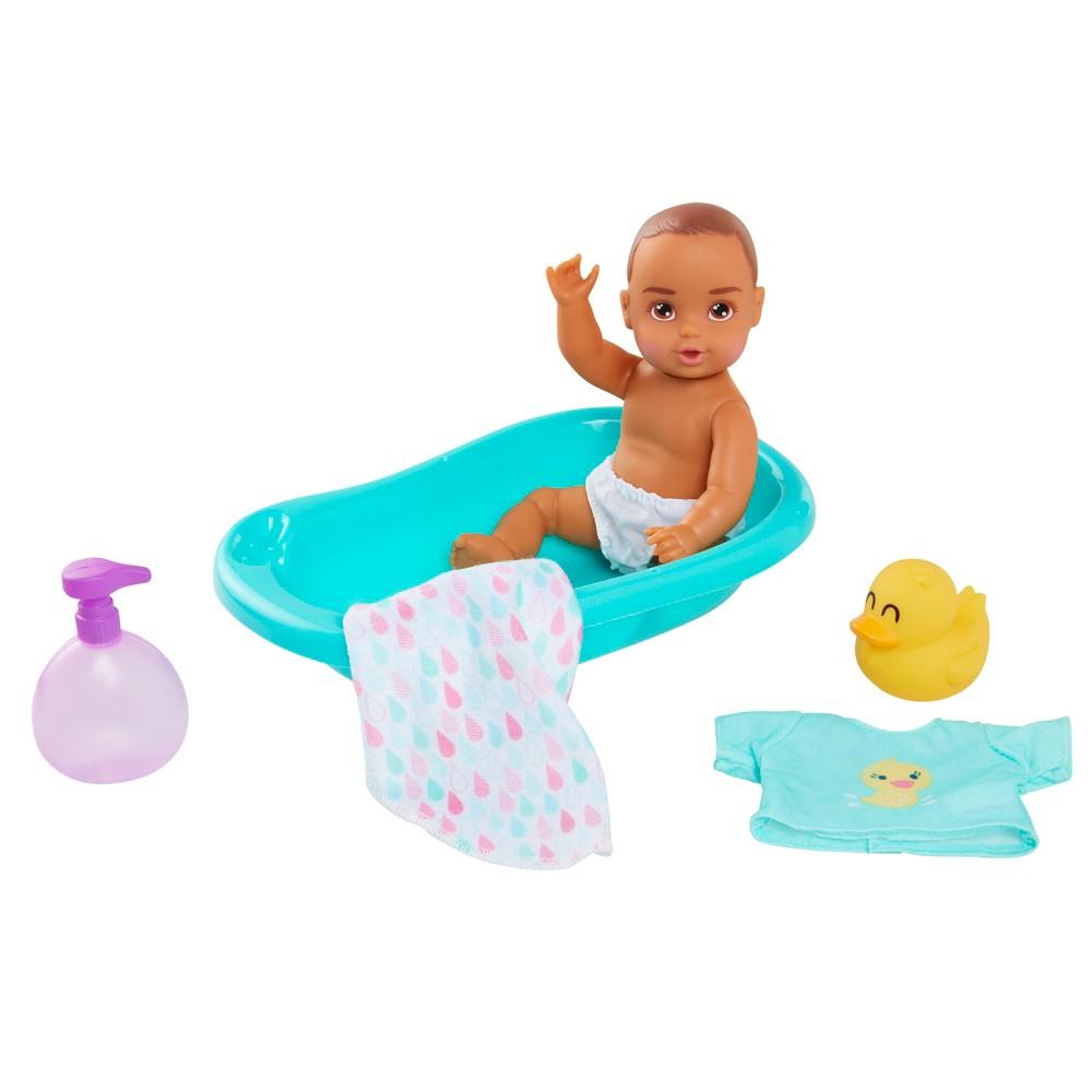 Perfectly Cute My Lil' Baby Bath Set 8 Baby Doll 6pc Set
