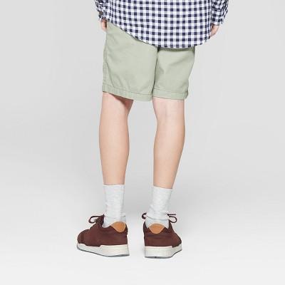 Boys' Pull-On Chino Shorts - Cat & Jack Olive XL, Boy's, Green