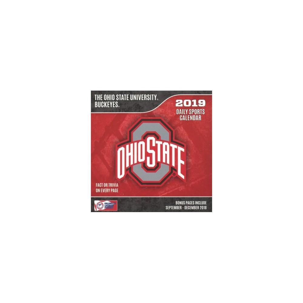 Ohio State Buckeyes 2019 Calendar - (Paperback)