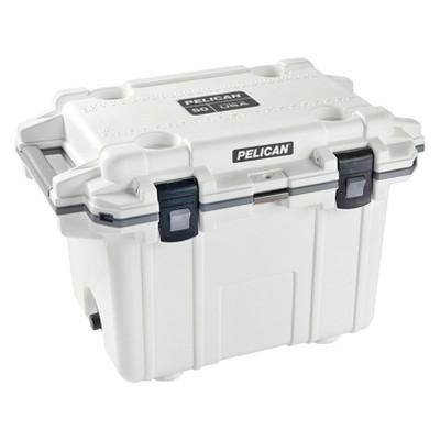 Pelican 50qt Elite Deluxe Cooler - White