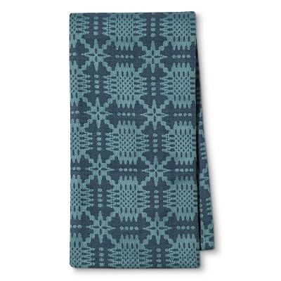 Blue Geometric Kitchen Towel - Threshold™