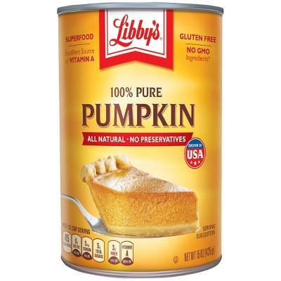 Libby's 100% Pure Pumpkin - 15oz