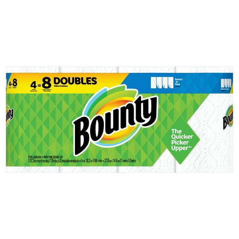 Bounty Select-A-Size Paper Towels - Double Rolls - image 1 of 4