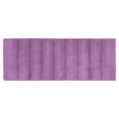 Garland Essence Nylon Washable Bath Runner - Purple (22 x60 )