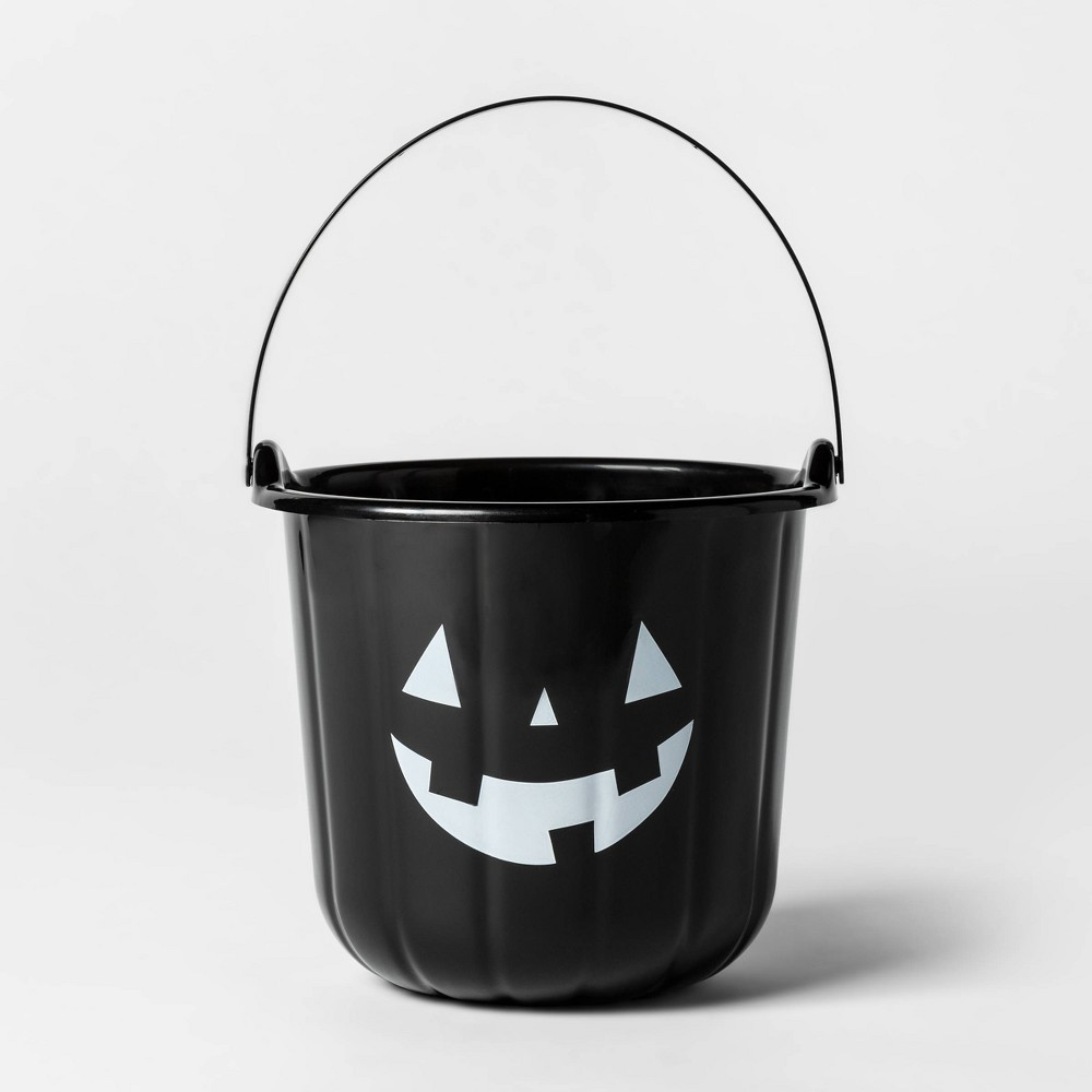 Image of Halloween Stackable Pumpkin Bucket Black - Hyde & EEK! Boutique
