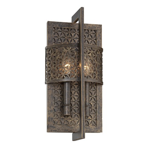 Metropolitan N2725 2 Light Lantern ADA Compliant Wall Sconce from the Ajourer Collection - image 1 of 1