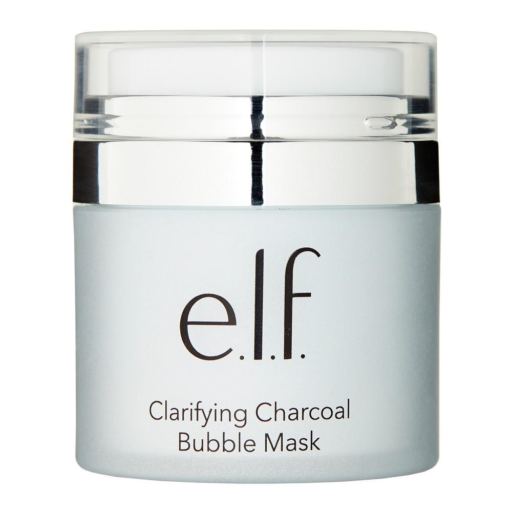 Image of e.l.f. Clarifying Charcoal Bubble Mask - 1.76 fl oz