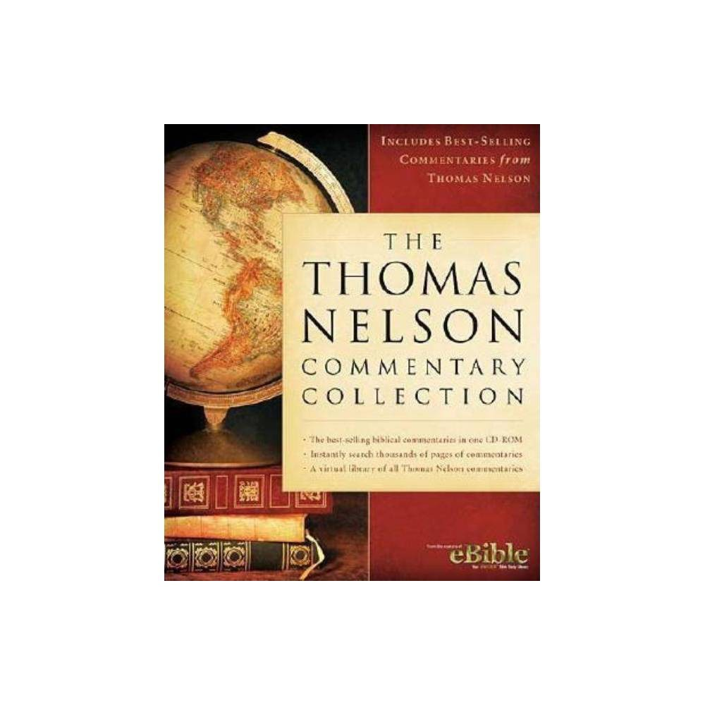 The Thomas Nelson Commentary Collection - (Cd_rom)