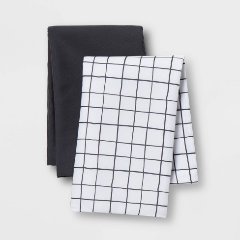 Microfiber Body Pillow Cover 2pk Gray - Room Essentials™ - image 1 of 4