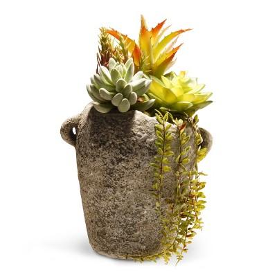"Artificial Succulent Plants 11.8"" - National Tree Company"