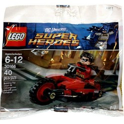 LEGO DC Universe Super Heroes Robin and Redbird Cycle Mini Set #30166 [Bagged]