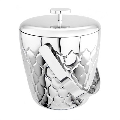 Old Dutch 2.3qt Stainless Steel Avante Embossed Double-Walled Ice bucket