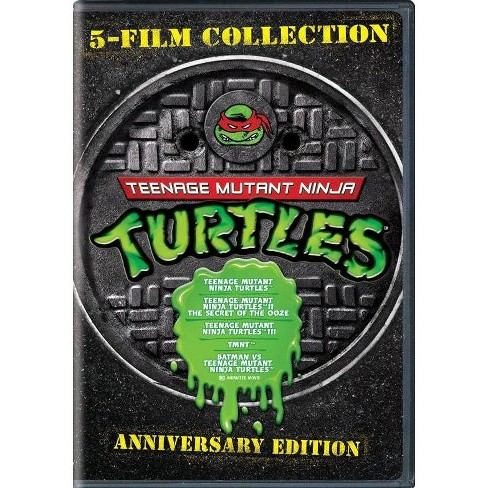5 Film Collection: TMNT Anniversary Edition (DVD) - image 1 of 1