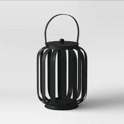 Metal Strip Outdoor Lantern Black - Project 62™