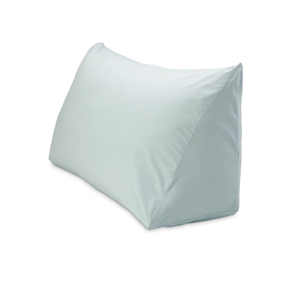 "Image of ""18"""" x 36"""" 330 Thread Count Reading Wedge Cover Bluegrass - DownLite"""